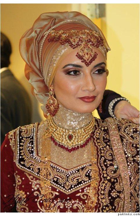 Wedding Dupatta Style 1