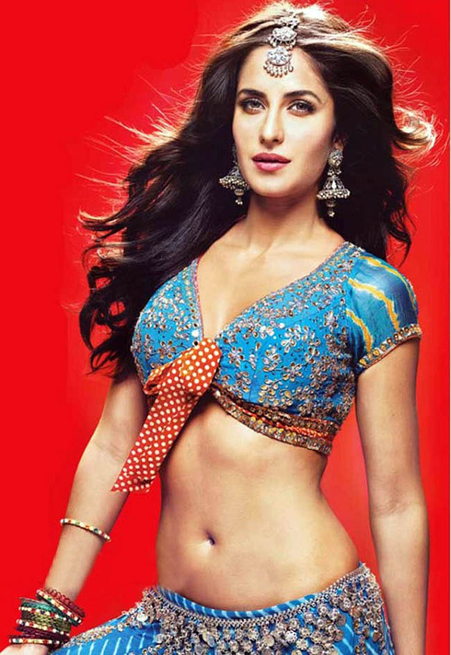 Katrina Kaif Hot Navel Photos
