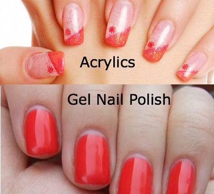 Acrylic Nails vs. Gel Nails A - Women