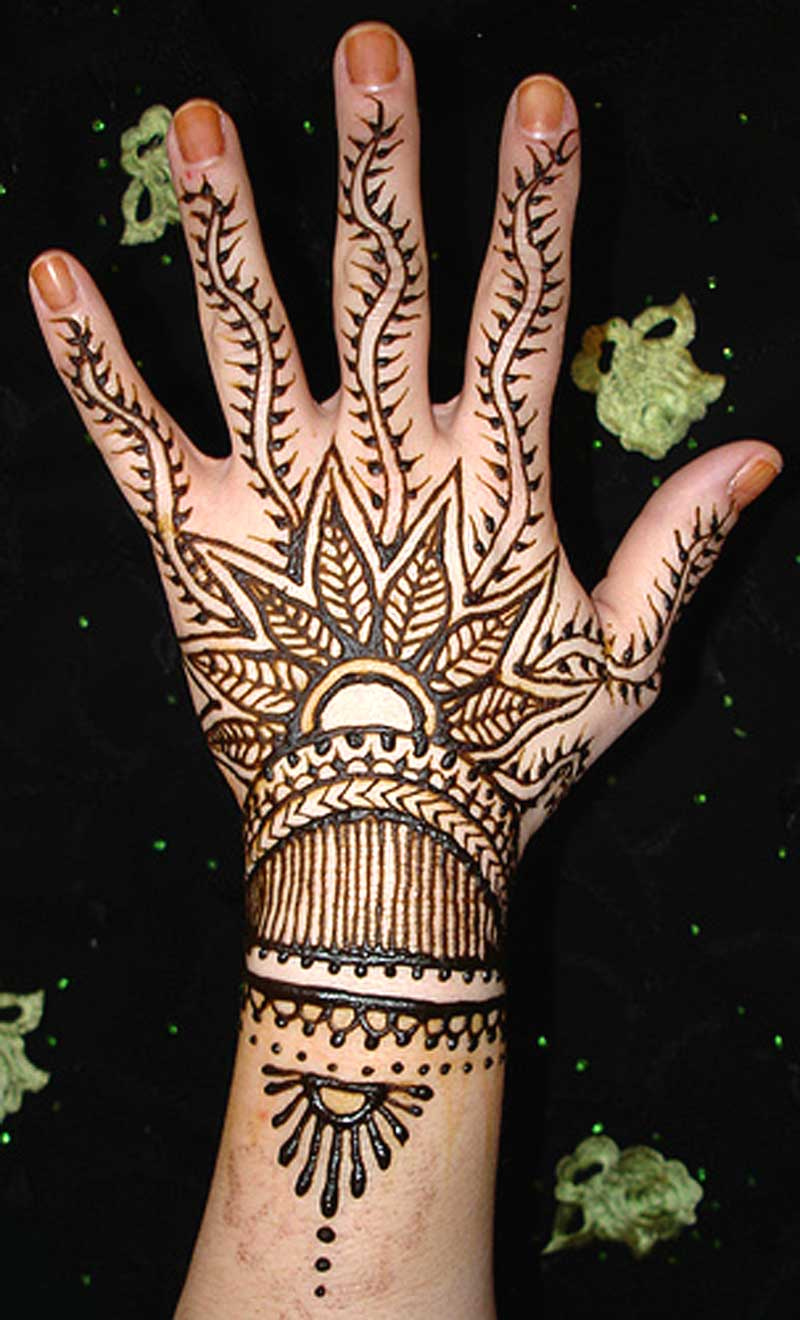 Mehndi Designs Simple And Easy for Hands Arabic to draw ...
