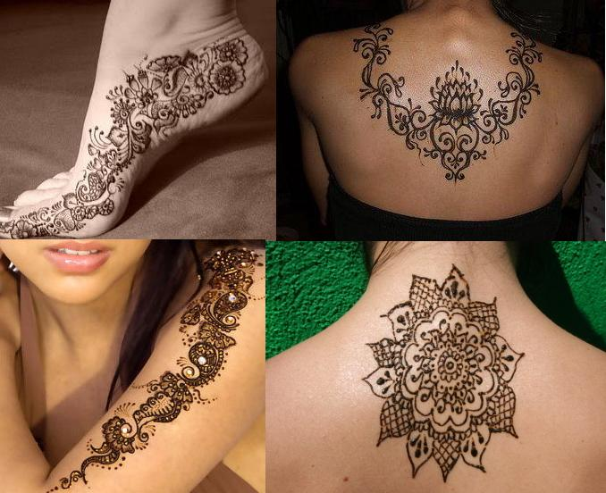 Trend Of Mehndi Designs With Outline 05