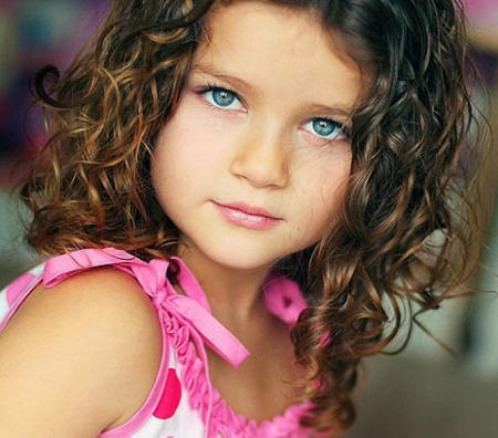 Terrific Cute Hairstyle For Toddlers With Short Curly Hair Hairstyle Inspiration Daily Dogsangcom