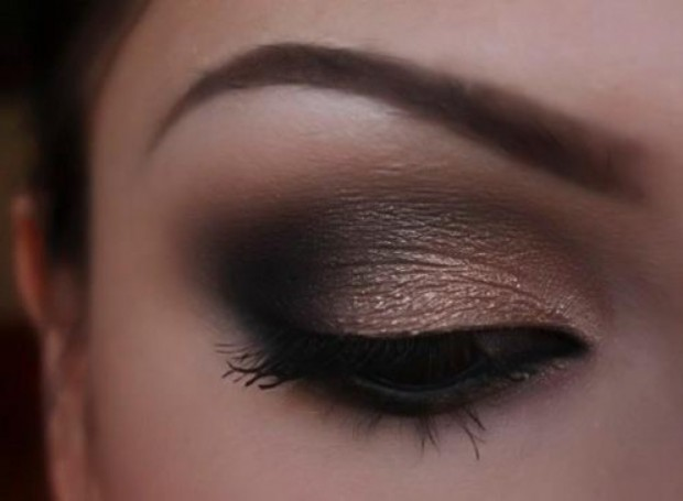 Perfect Wedding Makeup For Brown Eyes : Gallery For > Cute Makeup Ideas For Brown Eyes Step By Step