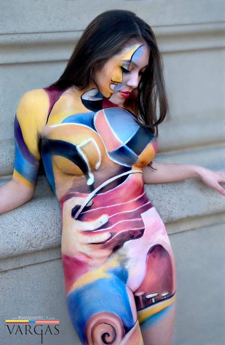 Body painting creativity to apply on body