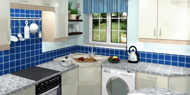 Ideas to arrange kitchen in a small house - Arranging a small kitchen ...